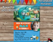 Octonauts Invite, Octonauts Invitations, Octonauts Invites, Birthday Party Supplies, Invitation, Invite Card, Printable DIY Digital JPG File