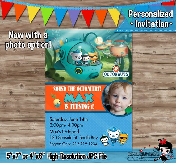 Octonauts Birthday Invitations is one of our best ideas you might choose for invitation design