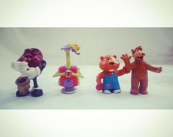 1980's Vintage California Raisin Reboot Getalong Gang Alf  Collectible PVC lot figure toy cool  TV Cartoon kids shows from the 80s and 90s