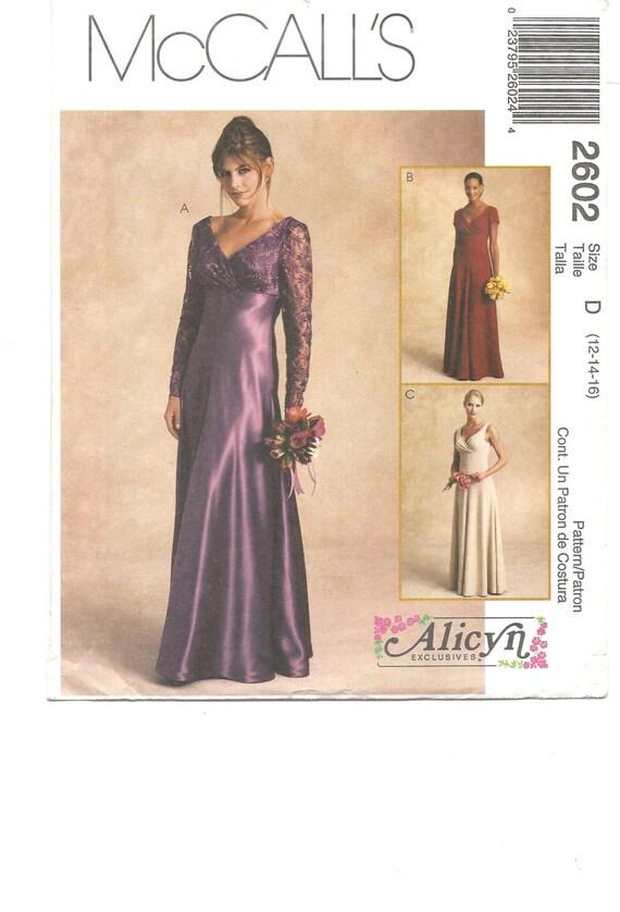 Patron robe de soiree empire la mode des robes de france - Patron de robe de soiree ...