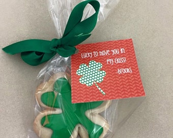 St Patty's Day Favor Tags