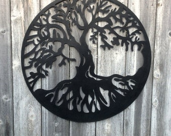 Large Metal Wall Art, Metal Wall Art, Large Wall Art, Metal Art, Metal Wall Decor, Tree Decor, Metal Decor, Metal Wall Art, Large Wall Decor