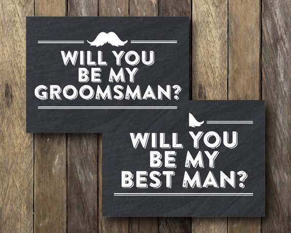 Accomplished image with regard to will you be my groomsman printable