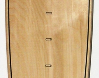 Natural Ply Surfboard-shaped growth chart