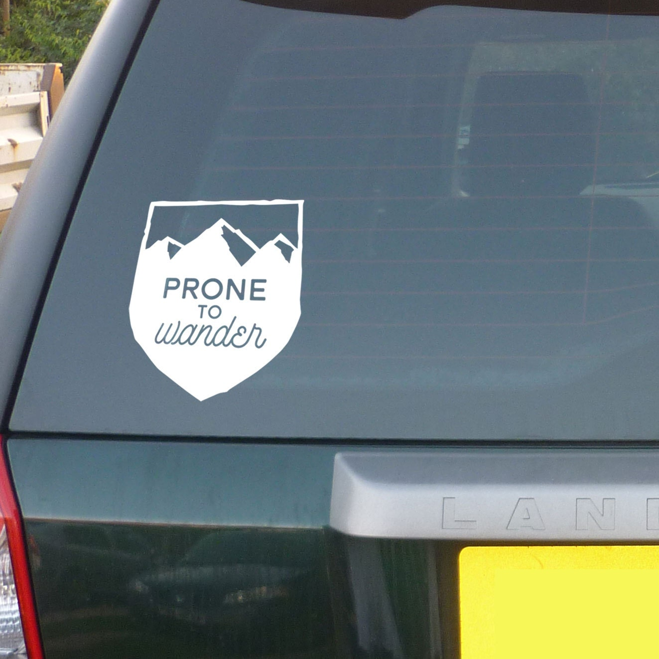 Prone To Wander Travel Lover  Wanderer Car Decal - Unique car window decals