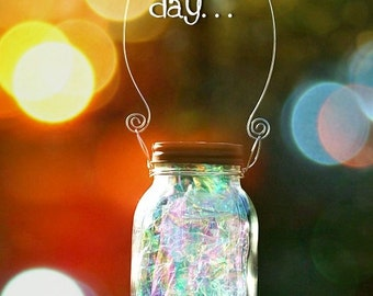Solar Mason Jar - Fairy Lantern - Garden Decor - Outdoor Lighting - Fairy Decor - Solar Light - Mason Jar Light - Mason Jar Decor - Fairy