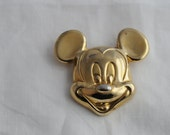 Mickey Mouse, Sterling Mickey Mouse, Vermeil Mickey Mouse, Disney, 204