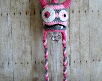 Monster hat - Hat Monster Girly girly