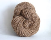 100% Fawn Alpaca Naturally Colored Hand Spun Yarn - NEW PRICE!!