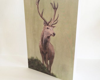 Stag Blank Card