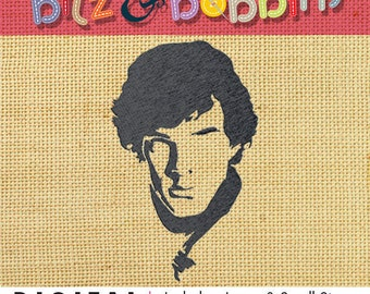 Sherlock Embroidery Design - Machine Embroidery