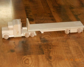 Handcrafted Wood Toy Truck