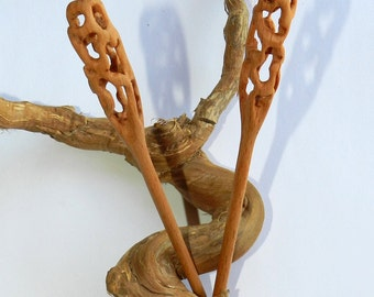 Wooden Hair sticks, Wood hair pin, Hair sticks
