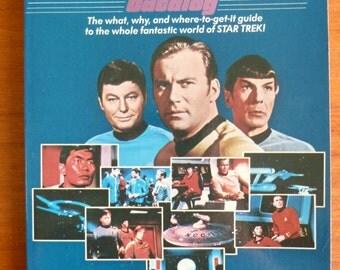 1979 A Star Trek Catalog - Gerry Turnbull - Neil Appelbaum - Interview w/ Gene Roddenberry - Collectibles Conventions - Vintage SciFi Book