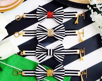 The 'Meet Me in Paris' Bow Bracelet