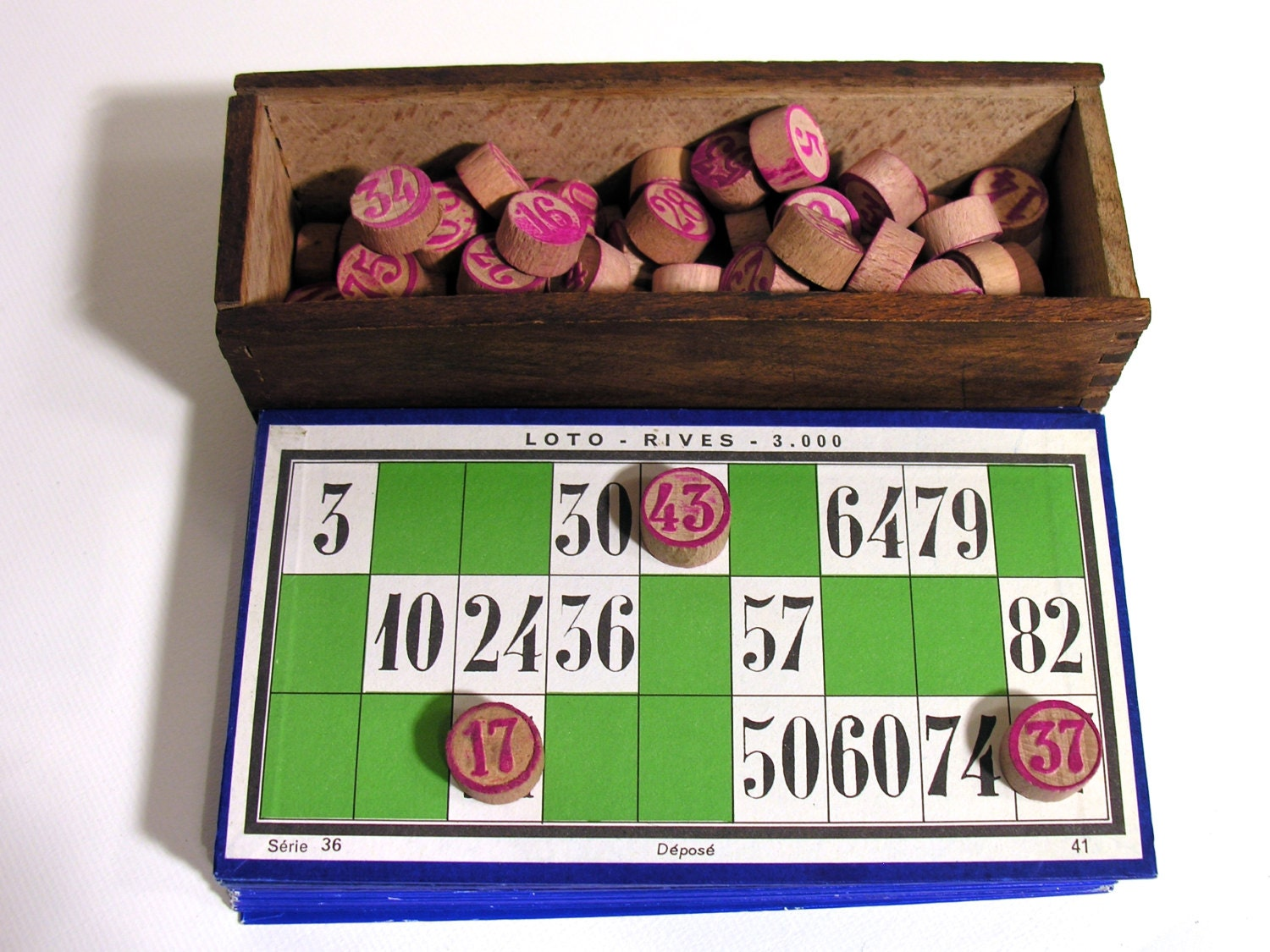 Card Game-vintage Lotto