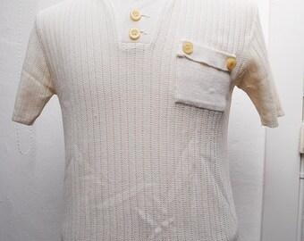 vintage 70s polo shirt