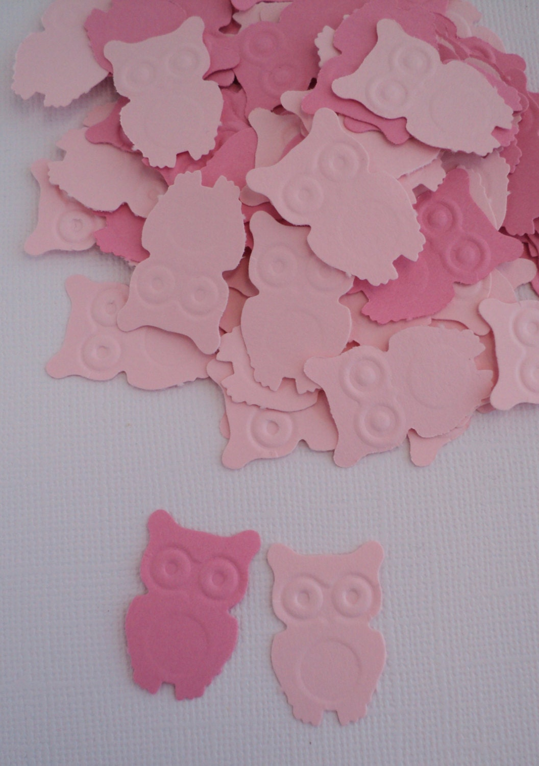 owl confetti baby shower decoration 100 ct pink owl owl theme