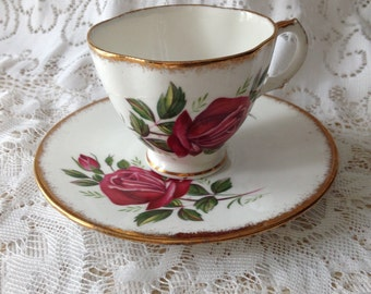 Vintage Bone China Royal Stuart Tea cup and saucer