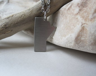 Manitoba Necklace - stainless steel