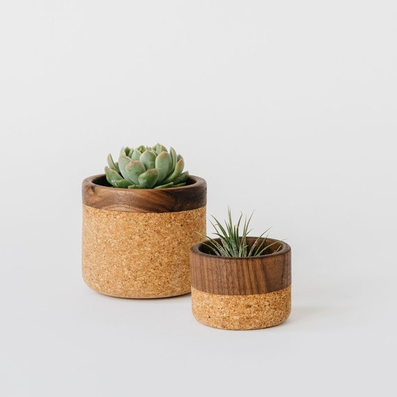 Cork + Wood Bowl