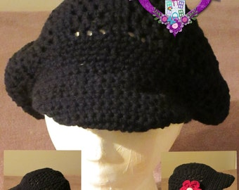 Brimmed Slouch Hat