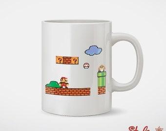 Mario Coffee Mug