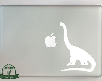 Brachiosaurus Dinosaur Macbook Laptop Decal