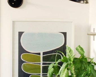 Brass black Wall arm bedroom, office custom lamp Antique Edison Bulb, black base Lamp, Rustic Lighting