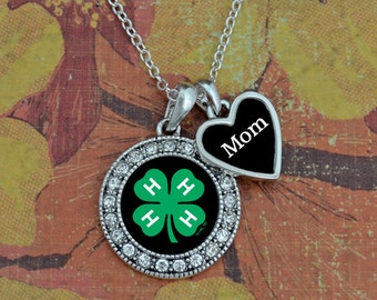 Custom Loved One 4-H Necklace