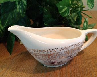 Lifetime China Pine Cone Creamer Homer Laughlin Semi-vitreous Vintage Midcentury