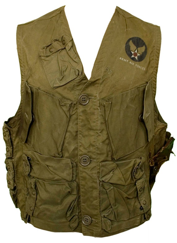 1940s Large Vest Army Air Force Wwii Ww2 Emergency Sustenance