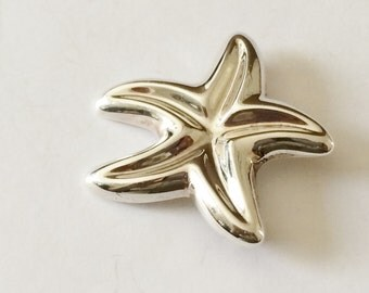 Sterling Silver Star Brooch