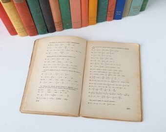 50 old Italian books pages  (1940s) - Perfect background for collage, scrapbooking, etc - vintage