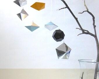 Geometric home jewelry / / tree ornaments