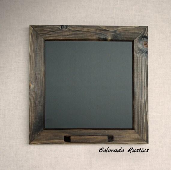 Framed Chalkboard Rustic Chalkboard Kitchen By ColoradoRustics