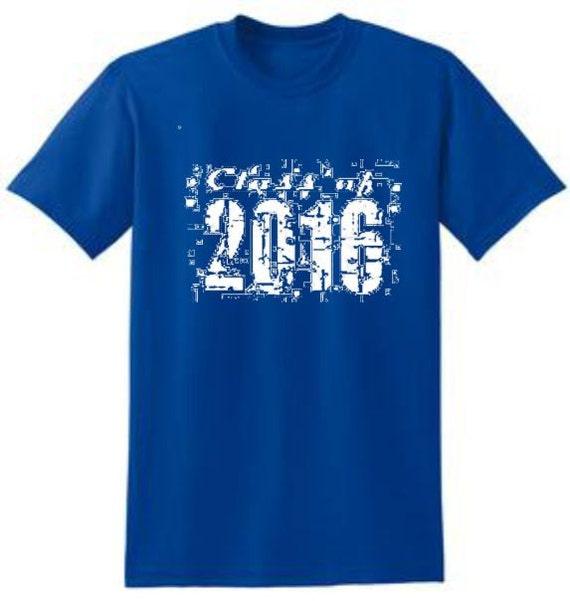 Class Of 2016 High School Senior T Shirts School By