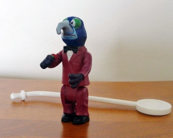 Vintage Fisher Price The Muppet Show Gonzo Stick Puppet