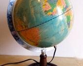 RESERVED LISTING for AK Vintage Globe Lamp circa 1991