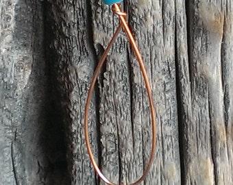Item# EA-D019 Copper Earrings
