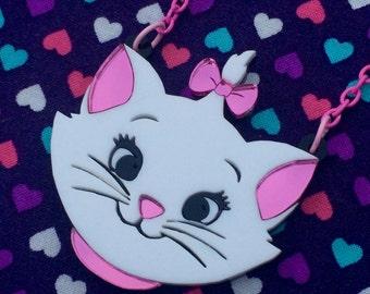 Marie Cat Necklace