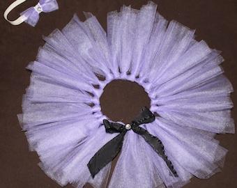 Purple Tutu with Matching Headband