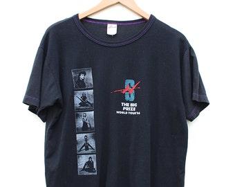 Rare 80s Honeymoon Suite Tour T-shirt - 80s Honeymoon Suite The Big Prize World Tour T-shirt - 1986 Honeymoon Suite Paper Thin Black T-shirt