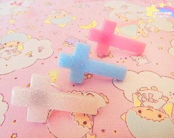 Cute Pastel Cross Ring