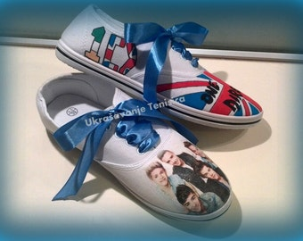 One Direction shoes! :)