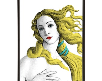 The Birth of Venus Pop Art Print after Botticelli