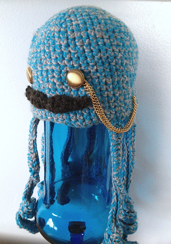 Kids Octopus Hat Otis - Steampunk Octopus - Crochet Kids Clothes ...