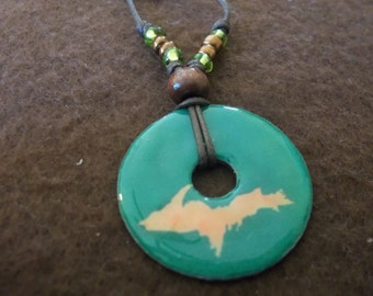 Hand Crafted Necklace - YOOPER, Upper Michigan Life