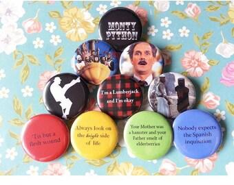 Monty Python Pinback Buttons
