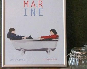 Submarine movie poster - A4 print